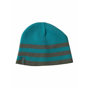 5/$25 Gerry Reversible Knit Beanie Blue Gray hat